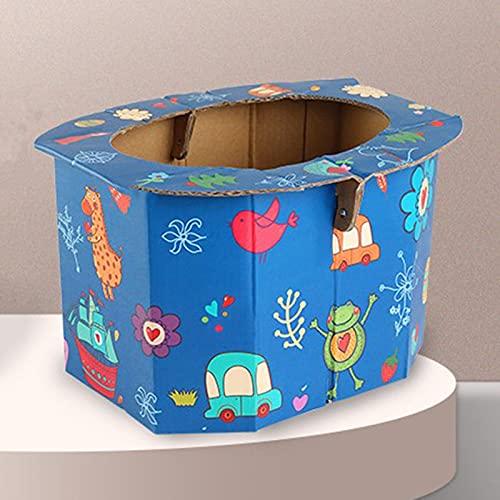 Tiantian - Vasino pieghevole portatile per bambini, vasino da viaggio per bambini