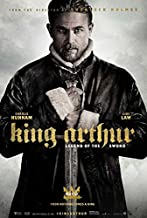 King Arthur: Legend of the Sword Movie POSTER 11 x 17 Charlie Hunnam, Jude Law, C, MADE IN THE U.S.A.