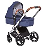 Product Image of the Evolur Nova Reversible Seat Stroller, Grey