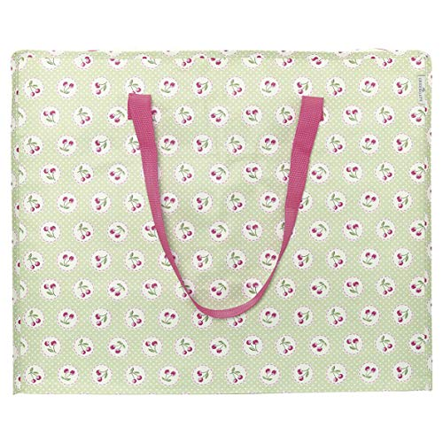 Storage Bag Cherry Berry p. Green Large