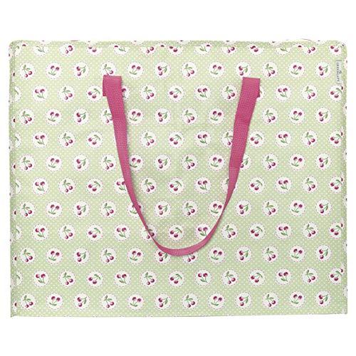 Storage Bag Cherry Berry p. Green Large