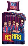 FC Barcelona Bettwäsche 140x200cm FCB-8017BL