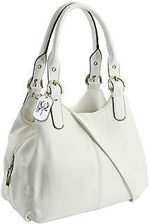 26f026fe9f22 Amazon.co.uk: White - Handbags & Shoulder Bags: Shoes & Bags