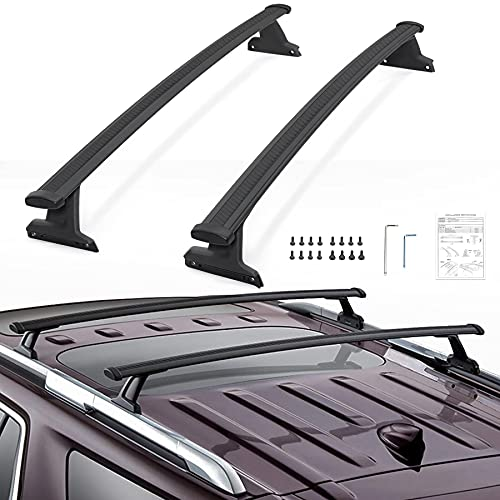 VZ4X4 Roof Racks Cross Bars, Compatible with Chevrolet Chevy Traverse 2018 2019 2020 2021, Part # 84231368
