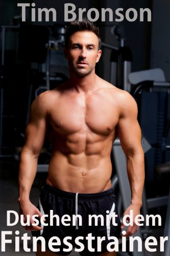 Duschen mit dem Fitnesstrainer (Gay Bodybuilder Fantasie)