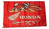 Mountfly Honda Racing Woodpecker Banner Flagge 91 x 152 cm Männerhöhle
