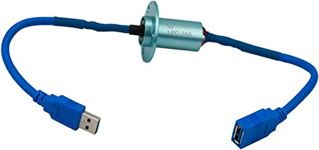 JINPAT USB3.0 Capsule Slip Ring Interfacing Computers Electronic Devices