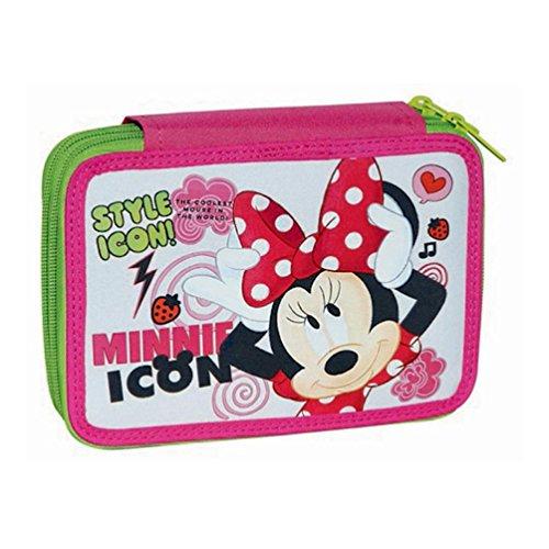 Minnie Mouse - Estuche para lápices (relleno), diseño de Minnie Mouse
