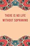 There is no life without sopranino: lined notebook for writing & note taking, funny journal for sopranino lovers, appreciation birthday christmas gag gift for women men teen coworker friend