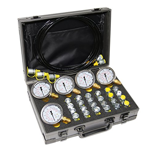 XZT 60P Hydraulic Pressure Test,Pressure gauges Set, Mini Hydraulic Hose Set, Test Coupling Set,Repair Tools for USA Brand Excavator Construction Machinery