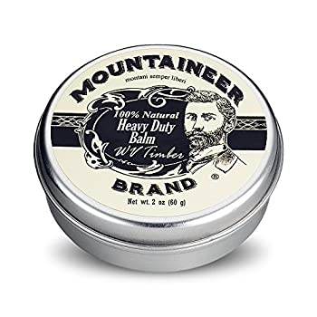 Heavy-Duty Beard Balm by Mountaineer Brand  2 oz    Beard Tamer and Leave-in Conditioner   WV Timber Scent