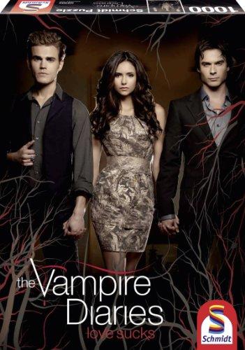 Schmidt Spiele 59302 - Vampire Diaries, Vampire Diaries 3, 1.000 Teile