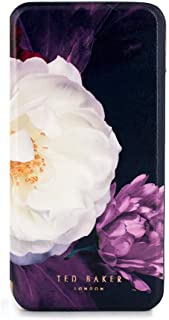 Ted Baker CANDEECE Highly Protective Mirror Folio Case for iPhone X/XS - Blushing Bouquet