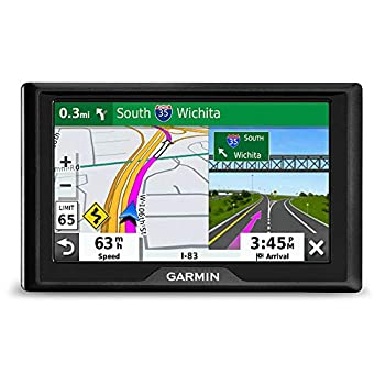 """Garmin Drive 52 GPS Navigator with 5"""" Display Simple On-Screen Menus and Easy-to-See Maps"""