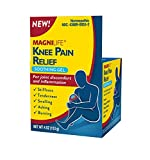 Knee Pain Relief Soothing Gel by MagniLife Reduces Swelling & Inflammation of Sore Muscles, Joint Discomfort, Injuries - All-Natural Arnica, Dragon's Blood, Cat's Claw, MSM, Witch Hazel - 4oz