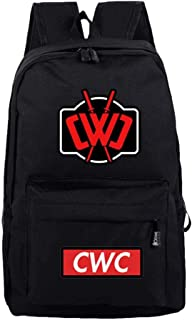 Chad Wild Clay Coolcool-Backpack Student Daypack Laptop Bag College Bag Fashionable 3D DIY Lightweight Large Space Anti-Dirt Schoolbag-6