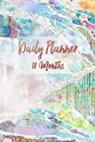 Daily Planner 18 Months: Multicolored Iridescent Pearl Diary Planner and Calendar: 18 Months from July 2019 to December 2020