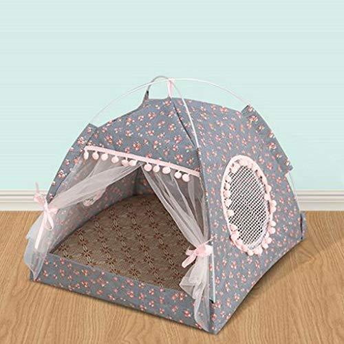 LLKK Casas para Gatos Plegables,Nidos para Mascotas,Tiendas portátiles para Mascotas,refugios para Animales pequeños y medianos para Gatos,Perros y Animales pequeños (1 Articulo)