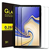ELTD Glas Bildschirmsfolie für Samsung Galaxy Tab S4 T830/T835, Ro&ed Corners 2.5D, 9H Festigkeit, gehärtetes Glas Bildschirmschutz Glasfolie Panzerfolie für Samsung Galaxy Tab S4 T830/T835 10.5 Zoll (2 Stück)