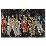 JUNIWORDS Poster, Sandro Botticelli, Primavera, Der