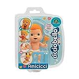 Cicciobello - CCB Amicicci Blister 1, Tenero Bébé Rouge, Mini Figurine Doux, Multicolore, CC002200