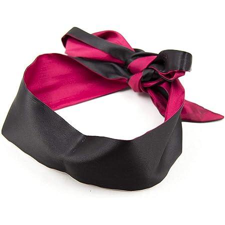 Soft Satin Eye Mask Blindfold Comfortable Sleeping Masks - 59 in x 2.8 in