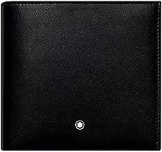 Montblanc Nightflight 8CC Leather Wallet- Black