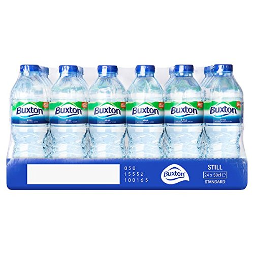 ( 24 Pack ) Buxton Still Natural Mineral Water 24 x 50cl