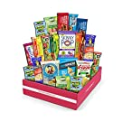 Healthy Snacks Care Package - Variety Assortment snack box of Popcorn, Chips, Nuts, Bars, Fruit Snacks (20 Count)