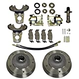 Disc Brakes, Zero Offset, 5 On 205mm, For King Pin 59-65, Compatible with Dune Buggy