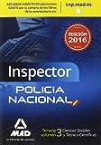 Inspectores del Cuerpo Nacional de Policía. Temario: Inspector de Policía Nacional. Temario volumen 3 Ciencias Sociales y Técnico-Científicas