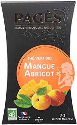 Pagès Thé Vert Mangue Abricot Bio 20 sachets parent