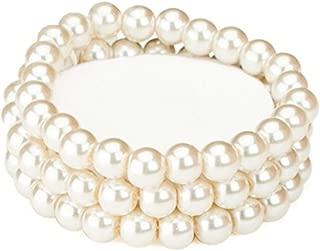 Best pearl corsage bracelet Reviews
