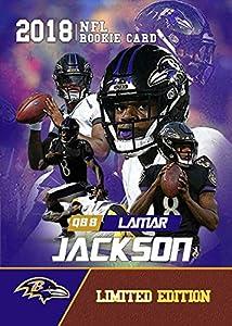 2018 Lamar Jackson Rookie Gems Very First Rookie Card Baltimore Ravens