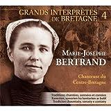 Marie-Josèphe Bertrand chanteuse du Centre-Bretagne