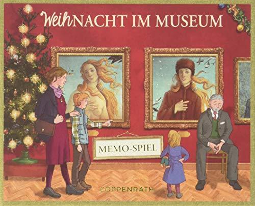 Schachtelspiel - WeihNacht im Museum: Memo-Spiel