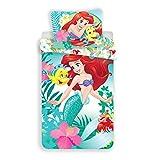 Disney Ariel La Petite Sirena – Juego de Cama – Funda de edredón de...