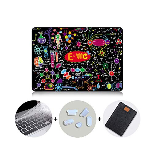 PrettyR 2020 Laptop Case for MacBook Air 13 inch a2179 Cover for mac Book air pro 11 12 13 15 16 with Touch bar Laptop Sleeve-MB01-Pro 15 Retina A1398