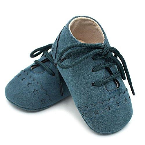 Heißer Baby Jungen Schuhe Schnürschuhe aus PU-Leder Säuglingskleinkind-Krippen-Mokassins