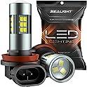 2-Pack Sealight H11/H8/H16 LED Fog Light Bulbs