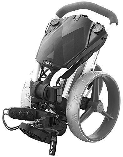 BIG MAX IQ+ Golftrolley Cart – 2015 Modell (Schwarz/Lime) - 2