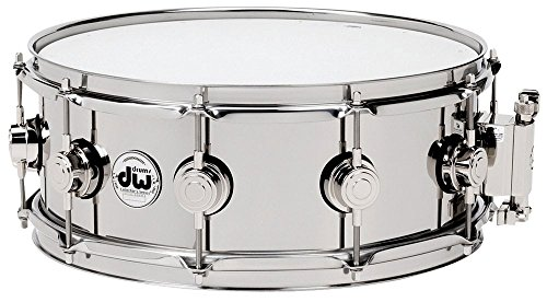 DW Drum Workshop STAINLESS STEEL 14X6,5