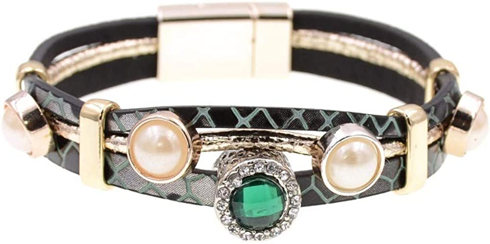 Bohemian Directly managed store Bracelets For Women Leather Brac Sale price Trendy Charm