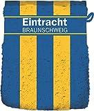 Eintracht Braunschweig Waschhandschuh 'Blockstreifen' -