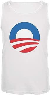 Obama - Large Rising Sun Logo Mens Tank Top