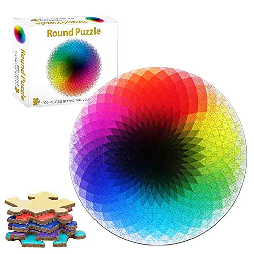 Puzzles,Rompecabezas De Colores 1000 Piezas Adultos,Rompecabezas Desafiantes para Adultos,Rompecabezas De Cartón,Rompecabezas De Colores para Adultos,Puzzles para Adultos (Bolas de Colores)