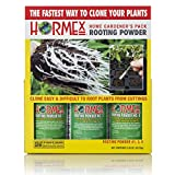 Hormex Rooting Hormone Powder #1,3,8 | for Easy to Moderately Difficult to Root...