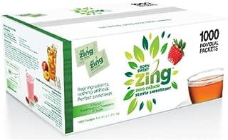 Born Sweet Zing Zero Calorie Stevia Sweetener Packets - 1 Pack, 1000 Packetcount