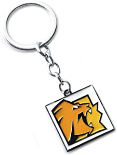 AEmber BK - R6 Lion Keychain and Pendant Necklace | Rainbow Six Siege CBRN (Necklace + Keychain)