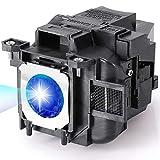 RICH LIGHTING ELP78 Projector Lamp Bulb for Epson ELPLP78 PowerLite Home Cinema 2030 2045 2000 730HD 725HD 600 VS230 VS330 VS335w EX7220 EX3220 EX5220 EX6220 EX7230 EX7235 V13h010l78 Replacement Bulb